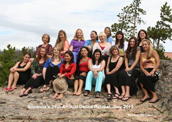 2012 Dance Retreat participants