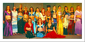 Belly Dance Class Students